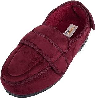 ABSOLUTE FOOTWEAR Womens Orthopaedic/EEE Wide Fit Slippers/Boot with Adjustable Strap