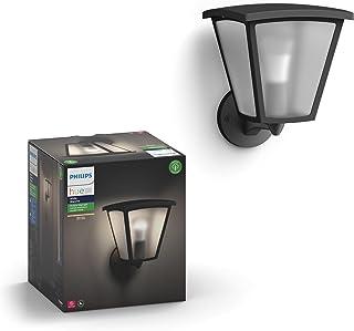 Philips Hue Inara White Outdoor Lantern, Wall Fixture & 1 Hue White A19 LED Smart Bulb, Use with Alexa, Homekit & Google Assistant (Hue Hub required)