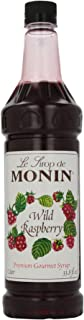 Monin Wild Raspberry, 48-Ounce Packages (Pack of 4)