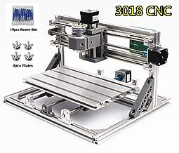 3 Axis Desktop DIY Mini CNC 3018 Router Kit GRBL Control Plastic Acrylic PCB PVC Wood Carving Milling Engraving Machine Working Area 30x18x4.5cm