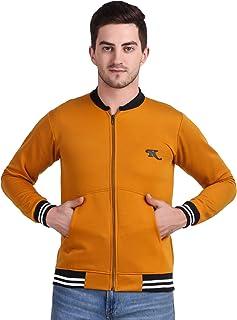 Kiba Retail Men Winter Cotton Zippered Full Sleeves Jacket