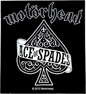 Razamataz Sticker Motorhead Ace of Spades Logo Art Rock & Roll Music Band Decal