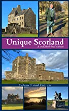 Unique Scotland: A small blank lined notebook for Virtual and Real Life travels from the Scottish Borders to its Breath-ta...