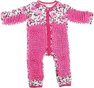 FLAMEER Lustiger Baby Kleidung Wischmop wischen Boden Strampler Overall Jumpsuit zum Krabbeln