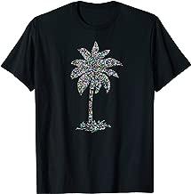 Palm Tree Beach Gear, Ocean, Seashore, Surfing Souvenir T-Shirt