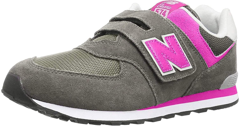 New Balance Kids' 574 V1 Evergreen Hook and Loop Sneaker