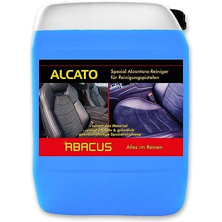 Abacus 5 L Alcato Tornador Reiniger Alcantara Reiniger Gebrauchsfertig Für Alle Alcantara Glattlederoberflächen 1086 5 Baumarkt