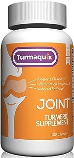 550mg Meriva Curcumin Turmeric Supplement (180 Capsules) + 5 Boosters: BioPerine Black Pepper, Boswellia, Ginger, Chamomil...