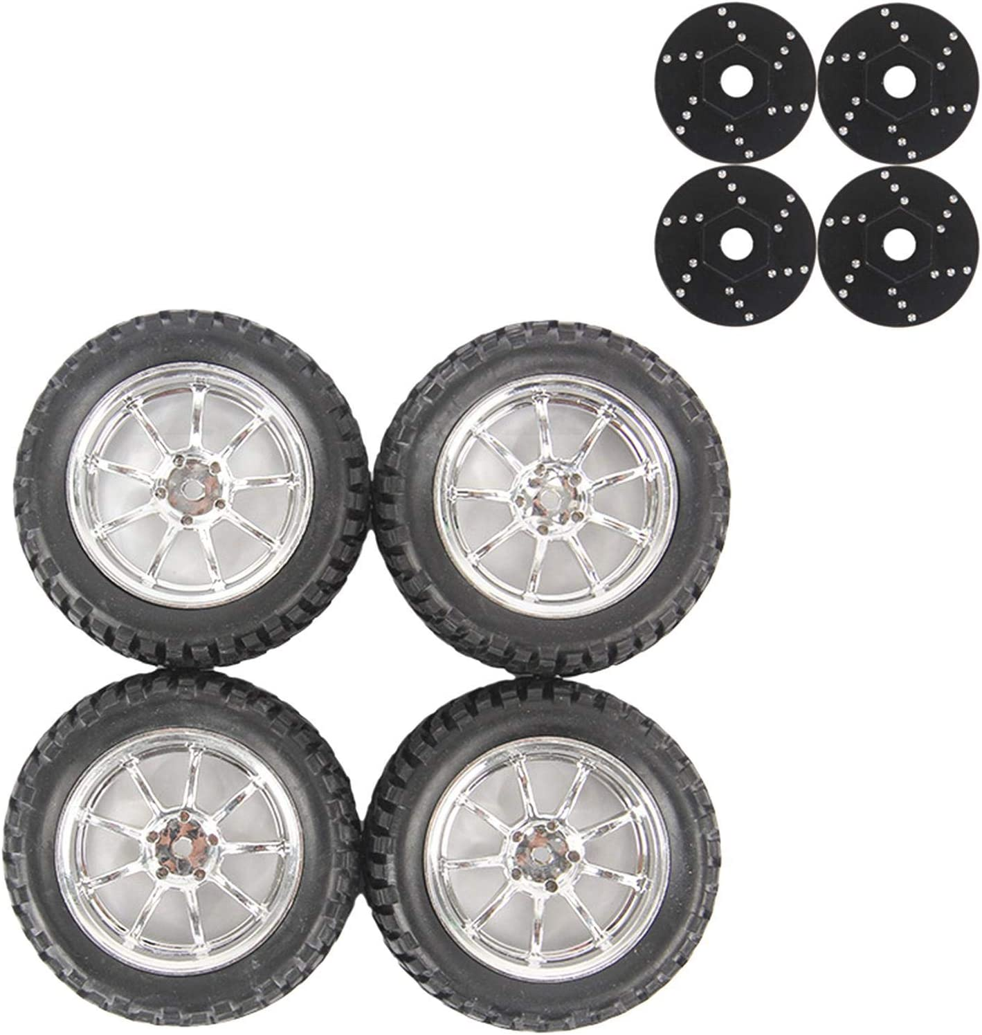 SYCOOVEN Direct sale of manufacturer We OFFer at cheap prices 4pcs Upgrading Toy Replacement Tyre Set C5 Prof to 12MM