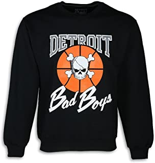 Detroit Pistons Bad Boys Apparel- Historic Men's Crewneck Sweatshirt