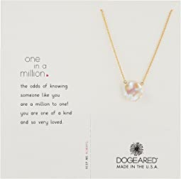 Dogeared One in A Million Necklace