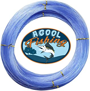 AGOOL Monofilament Fishing Line Clear Super Strong Abrasion Resistant Low Memory Nylon Fishing Leader Line Speargun Line f...