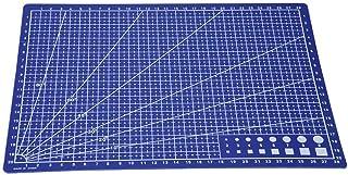 Tapis de coupe auto-cicatrisant, planche à découper de lignes de grille de piquage A4 pour outil de papeterie de bureau en...