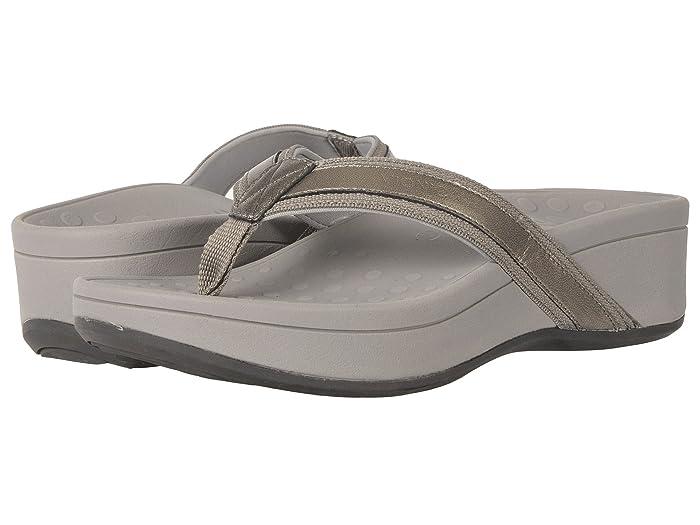 VIONIC  High Tide (Pewter Sheep Nappa) Womens Sandals