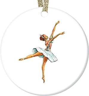 Dancing Ballerina or Queen  Hampelmann Jumping or Dancing Hanging Ornament Vintage Wood Boho Christmas Ornament