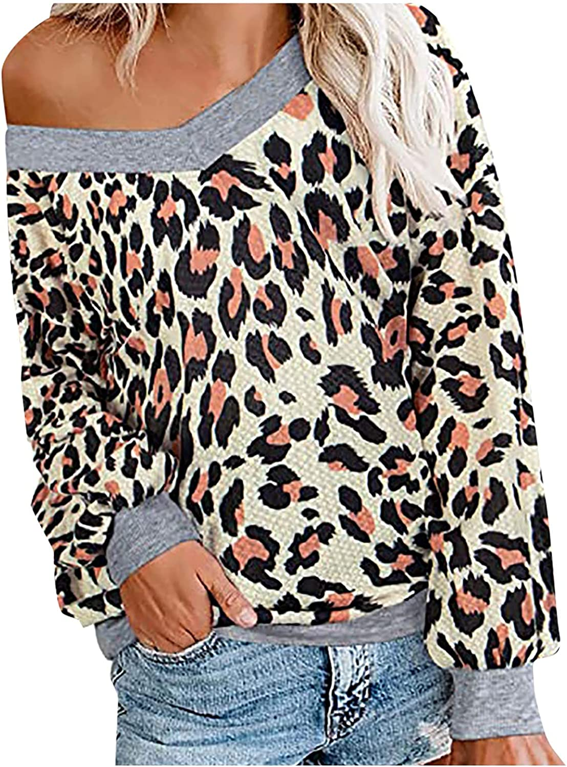 Women's V-neck Off Shoulder Knit Sweater Sexy Simple Bat Sleeve Long Sleeve Pullover