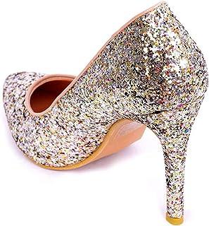 Ks Sparkling Glitter Tacco a spillo Pompe