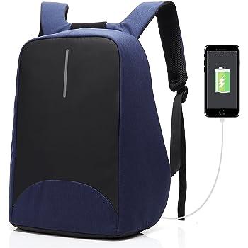 Unisex XD Design Bobby Hero XL 17 Sac /à Dos Antivol USB Bleu Fonc/é
