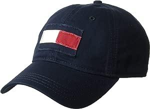 Tommy Hilfiger Men's Dad Hat Tommy Flag Cap Hat