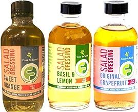 Low FODMAP Certified Salad Dressing (Variety Pack), AIP, Paleo, Whole30 & Vegan Diet - Casa De Sante
