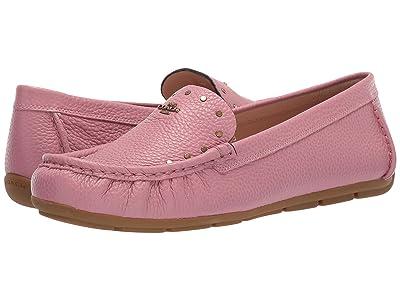 COACH Mckenna Studded Driver (True Pink Leather) Women
