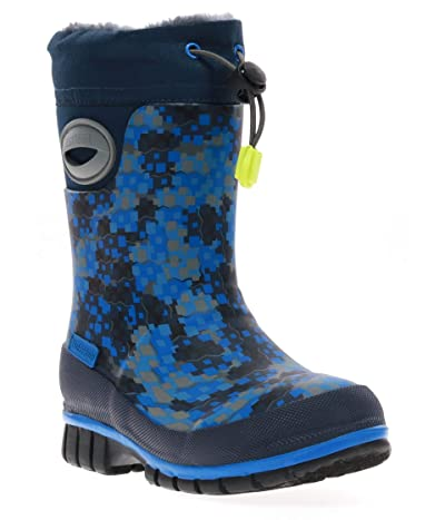 Western Chief Kids Canyon Winterprene Tall Boot (Toddler/Little Kid/Big Kid) (Blue) Boys Shoes