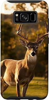 Galaxy S8 White-Tail Deer Buck Photo Hunters Deer Lovers Phone Case