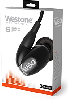 $543 » Westone W60 with Bluetooth Cable Six-Driver True-Fit Earphones with High Definition Silver MMCX Cable