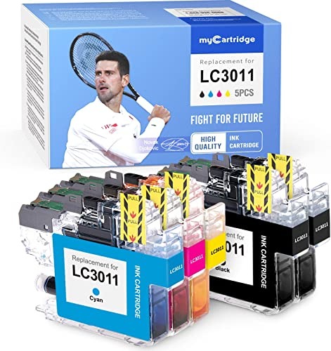 wholesale myCartridge Compatible Ink Cartridge Replacement for Brother sale LC3011 lowest Lc-3011(2 Black 1 Cyan 1 Magenta 1 Yellow, 5-Pack) Fit Mfc-J491DW Mfc-J497DW Mfc-J690DW Mfc-J895DW Printer sale