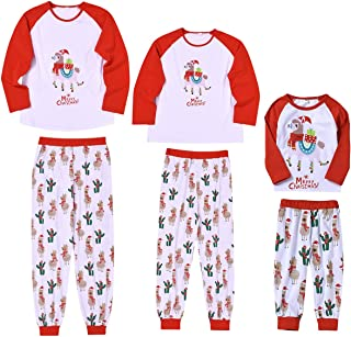 KUDICO Parent-Enfant Pyjama No/ëL Famille Pyjamas Sleepwear Renne V/êTement Plaid Blouse Pants Pajamas Sleepwear Matching Christmas Set Soie Femme Pyjama Polaire