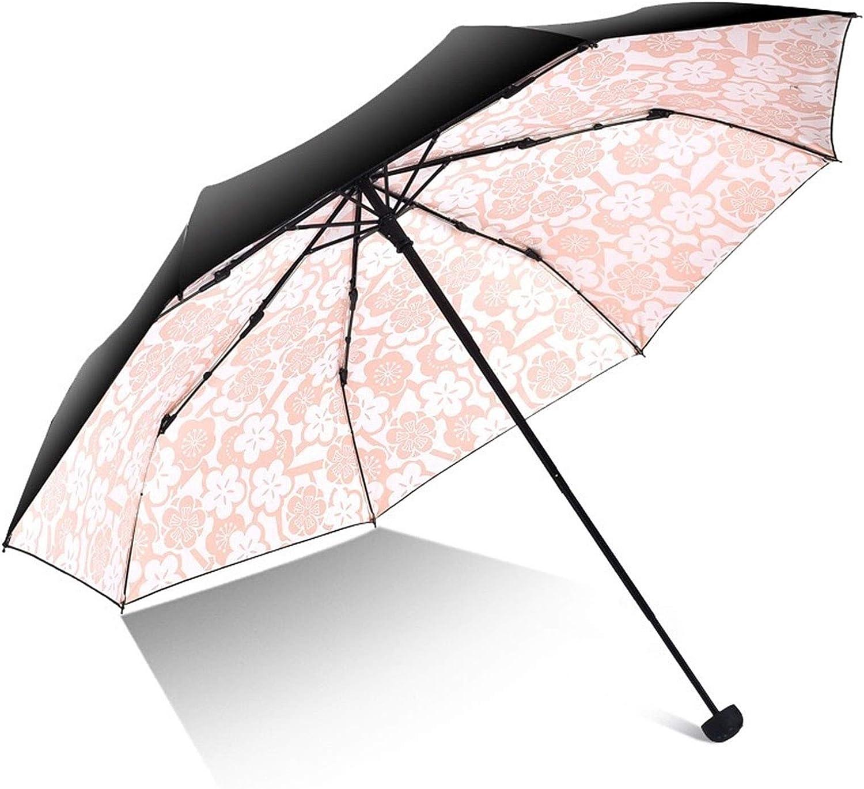 GYF Women Umbrella Girl Anti-UV Folding F In stock Flower Modish 100% quality warranty Portable