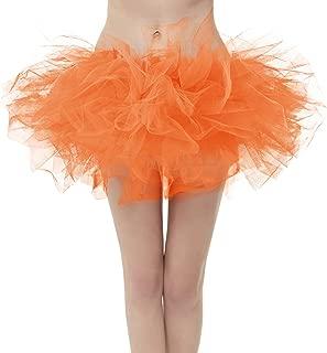 Girstunm Women's Classic Layers Fluffy Costume Tulle Bubble Skirt