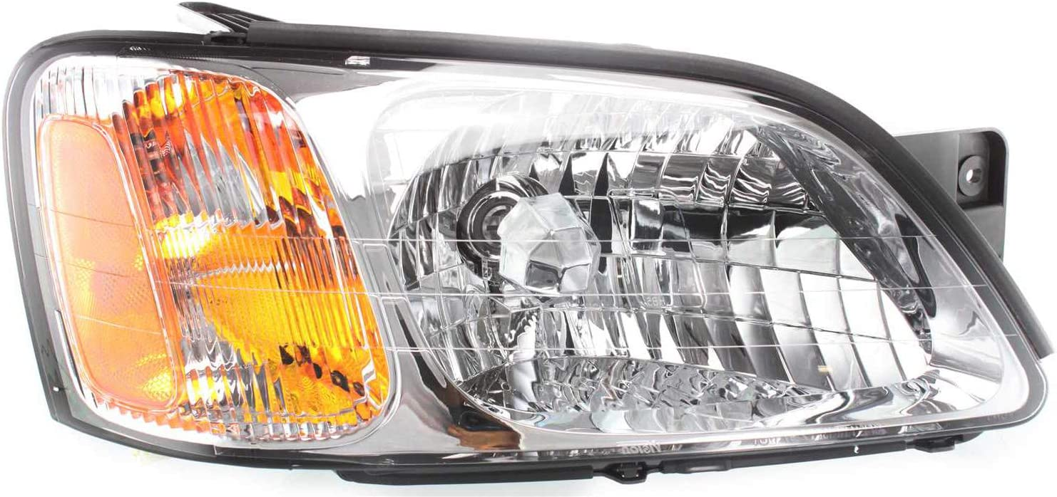 Fees free Evan-Fischer Headlight Assembly Compatible Subaru 2000-2004 with Spring new work