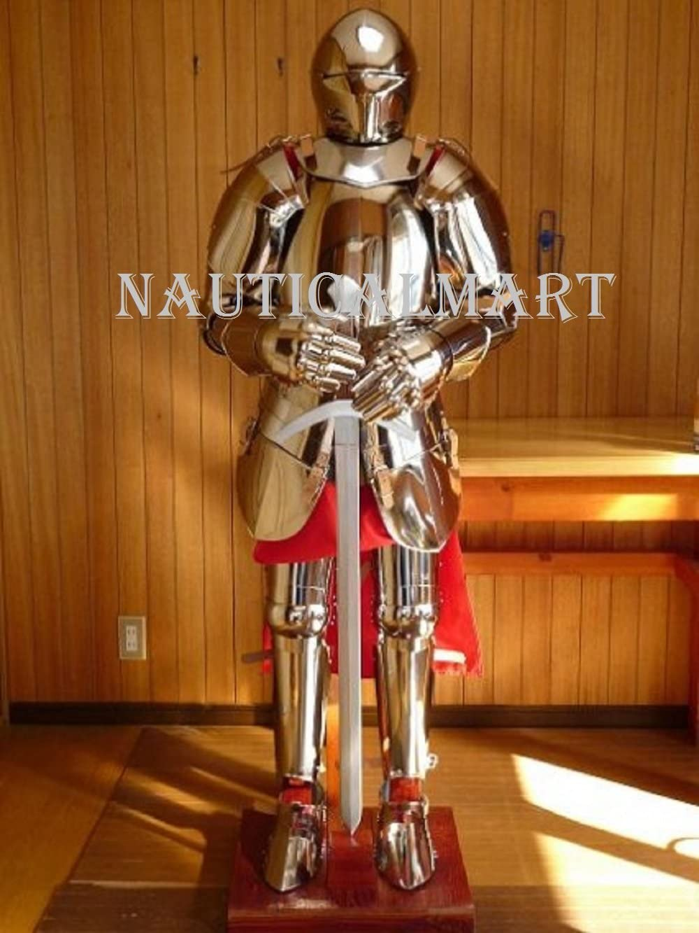 Popular brand NauticalMart Wearable Knight Close Suit Armor Reenactment of Cos Max 49% OFF