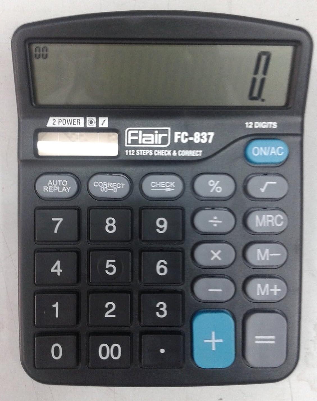 スピーカー権威登山家Flair電子電卓デスクトップシリーズfc-837?by Flair