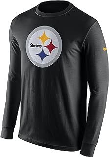 Nike Men's Pittsburgh Steelers CTN Long Sleeve Primary Logo Tee