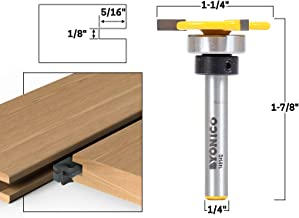 Best 1/8 shank router bit with bearing Reviews