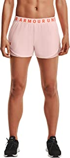Under Armour Women's Play Up Shorts 3.0 Active Shorts, Breathable Running Shorts