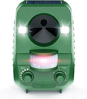 AngLink 2021 Nouvelle Répulsif Chat Ultrason Solaire Repulsif Chat Exterieur Ultrason Chat pour Repousser Animaux Nuisible...