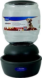 Petmate Replendish Gravity Feeder Grey Dog Bowl