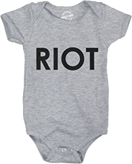 Romper Riot Shirt for Baby Political Top Anti Trump Liberal