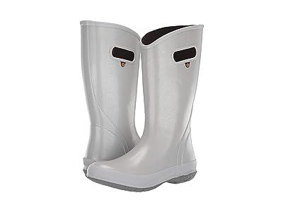Bogs Rain Boot Glitter (Silver) Women