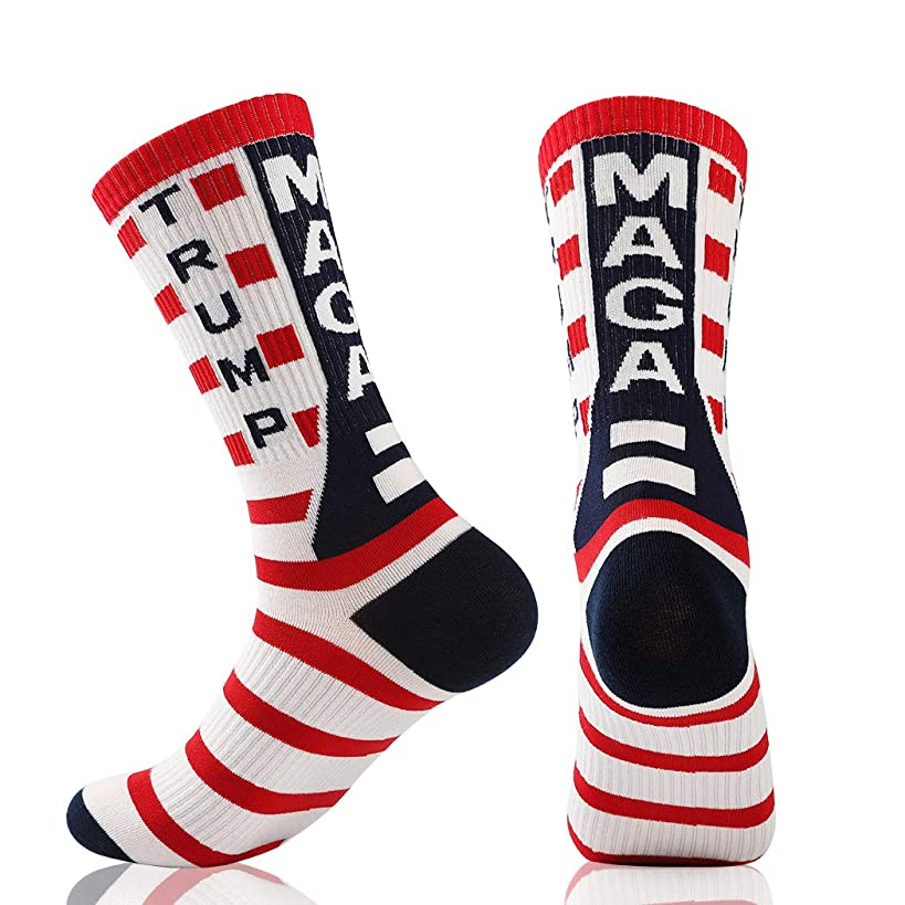 Trump 2020 Republican GOP Election Voting Socks Unisex Crew Socks Make America Great Again