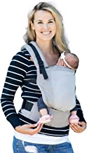 Baby Tula Free-to-Grow Coast Mesh Baby Carrier 7-45 lb, Adjustable Newborn to Toddler Carrier, Ergonomic Inward Front and ...