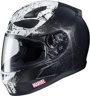 HJC CL-17 Helmet - Marvel Punisher 2 (Medium) (Black)