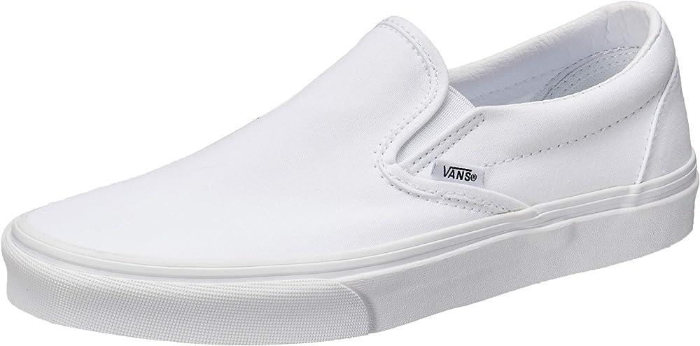 Vans ua classic slip-on scarpe sneaker a collo basso unisex in tela VN000EYE