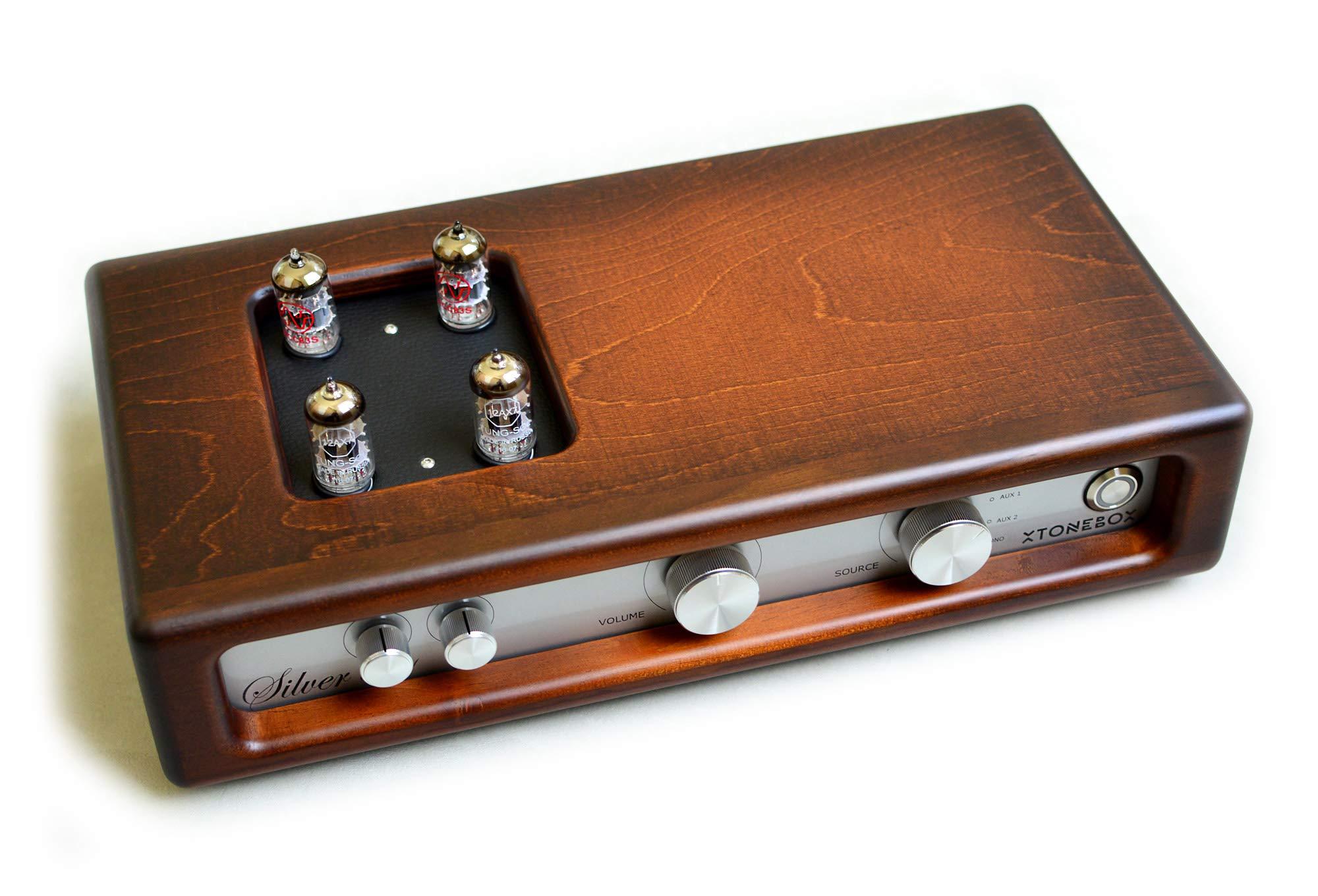 Xtonebox Silver 6011 Amplificador estéreo música a válvulas para ...
