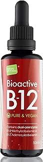 Bioactive Liquid Vitamin B12 Methylcobalamin Plus Adenosylcobalamin 2,400 mcg (High Strength) Vegan Energy Sublingual Drops in Pure Water (Made in The UK)