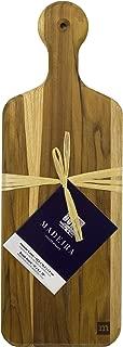 Madeira Bread Board, Teak Edge-Grain, 17
