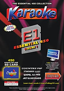 Chartbuster Essential 450 Vol. 1 - MP3G's on SD Card